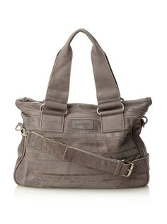 Chocolat Blu Women's Convertible Shoulder Bag (Grey)