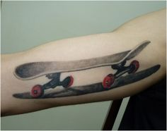 skateboard tattoo - Google Search