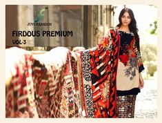 110dd0a28e Firdous premium vol 3 juvi fashion pakistani Suits. Buy online 2019 Best  Ethnic and bridal juvi fashion firdous Premium 3 salwar and dress buy at  Diwan ...