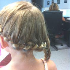 Cool side braid