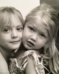 Adorable: Gigi is no stranger to a throwback snap, as a fortnight ago she shared another a...