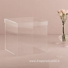 Box porta buste trasparente