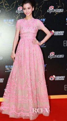 Angelababy In Valentino | Sina Weibo Awards, Bejing, Jan. 2014