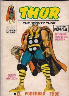 Thor nº 1 Hq Marvel, Disney Marvel, Jack Kirby, Comic Books Art, Comic Art, Book Art, The Mighty Thor, Young Avengers, Loki Thor