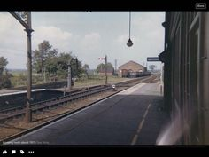 Looking north from Firsby in 1970 Train Stations, Railroad Tracks, Trains, Diesel, Electric, Shelves, Model, Diesel Fuel, Shelving