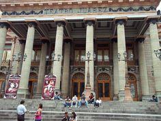 Encuentro de #revistas #culturales #guanajuato Fachada del #Teatro Juárez.