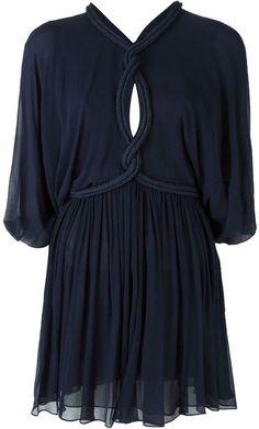 Jay Ahr rope detail mini dress - $1,873.83