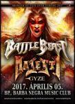 Battle Beast, Majesty és GYZE - Jövő szerdán a Barba Negrában!
