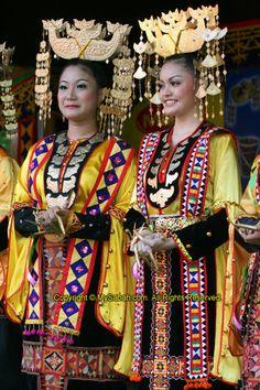 Bajau Costume. Sabah