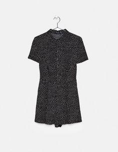 Φόρμα-πουκάμισο εμπριμέ