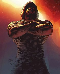 Luke Cage By Mike Deodato