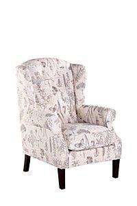 WINGBACK MONARCH CHAIR Armchair, Corner, Furniture, Home Decor, Sofa Chair, Interior Design, Home Interior Design, Arredamento, Armless Chair