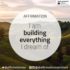 Positive affirmations quotes, morning affirmations, law of attraction affir Positive Affirmations Quotes, Affirmations For Women, Morning Affirmations, Affirmation Quotes, Positive Quotes, Career Affirmations, Mantra, Positive Thoughts, Positive Vibes