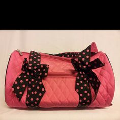 Super cute bags perfect for sleepovers, dance or grandmas's house
