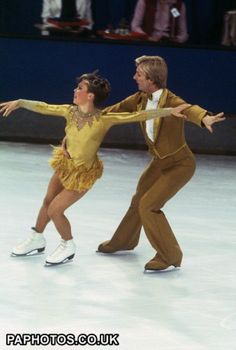 Ice Skating - Torvill and Dean - Mack and Mabel - St Ivel Rink, Richmond 1981