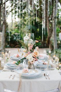 La Tavola Fine Linen Rental: Velvet Oatmeal with Tuscany Ocean Napkins Wedding Reception Decorations, Wedding Centerpieces, Wedding Table, Table Decorations, Event Planning, Wedding Planning, Bridal Looks, Wedding Inspiration, Wedding Ideas