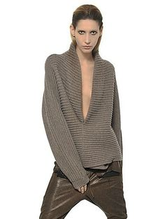HAIDER ACKERMANN RIBBED KNIT WOOL SWEATER Fashion Fall Winter 2013-14 | Flickr - Photo Sharing! | Вязание | Постила