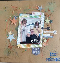 Layout by Jennifer Gatewood for Scrappin' in the City.