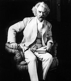 """""""Clothes make the man. Naked people have little or no influence on society"""" - Mark Twain"""