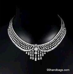 Vintage cartier diamond necklace