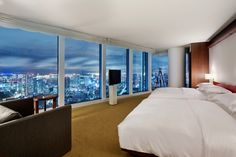 Andaz Suite #AndazTokyo Breathtaking views of Tokyo City Lights