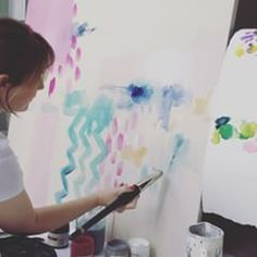 Bluebell Gray - A little time lapse video showing the painting of my new ''medina' design 🎥🖌💞 Bluebellgray, Inspirational, Photo And Video, Painting, Instagram, Design, Painting Art, Paintings