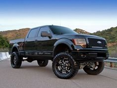 Black F150 Lifted