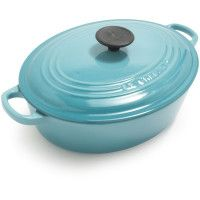 Le Creuset® Caribbean Wide Oval French Oven, 3½ qt.  $129.95  I love cooking in this, perfect roast every time