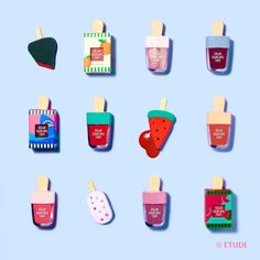 Etude House Dear Darling Water Gel Tint  Sweet Colors Melt Into My Lips Like Ice Cream