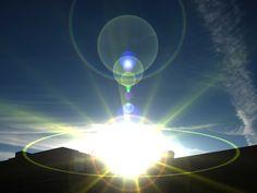 後光のイメージ