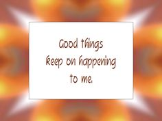 Daily Affirmation for June 18, 2013