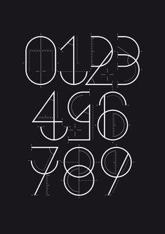 Numerografía - Yorokobu by Wete