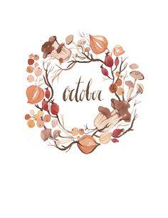 prettie-sweet:  (via October Wreath 8.5x11 by KelseyGarrityRiley on Etsy)