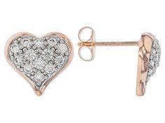 Bella Luce® 1.17ctw White Diamond Simulant Eterno™ Rose Heart E
