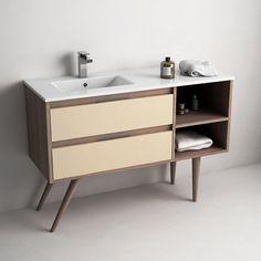 Tropcoul, meuble de salle de bain 120cm à poser
