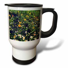 #coffee #mug #drivesafe #commuter #travel #work #cup #drink #gifts #art Amazon.com: DYLAN SEIBOLD - PHOTOGRAPHY - FLOWER FIELD - 14oz Stainless Steel Travel Mug (tm_244544_1): Kitchen & Dining