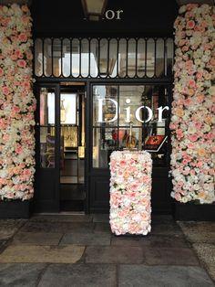 Dior Flowers, Flower Installation, Create, Design