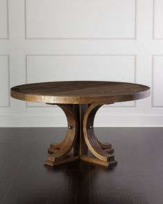 H83T5 Winthrop Round Dining Table