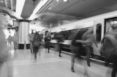 A busy London Train Station Train Station, Blur, Etsy Store, Art Print, London, Digital, Shop, People, Big Ben London
