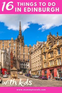 The top things to do in Edinburgh with kids, including ideas for Edinburgh in the rain and free days out with kids, plus a Harry Potter tour if you're visiting the capital of Scotland, UK Scotland With Kids, Scotland Uk, Scotland Travel, Days Out With Kids, Family Days Out, World Travel Guide, Europe Travel Guide, Travel Ideas, Travel Inspiration