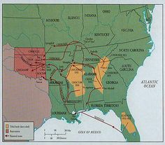 Trail of Tears Map. The Trail of Tears is a name given to the ethnic cleansing & forced relocation of Native American nations from southeastern parts of the U.S. following the Indian Removal Act of 1830. The removal included the Cherokee, Muscogee (Creek), Seminole, Chickasaw, and Choctaw nations, among others, from their homelands to Indian Territory in eastern sections of the present-day state of Oklahoma. Many Native Americans died, including 2,000-6,000 of 16,542 relocated Cherokee.