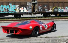 Ex-David Piper Endurance Prototype: 1969 Ford P68 | Bring a Trailer Sports Car Racing, Sport Cars, Race Cars, Auto Racing, Road Racing, Motor Sport, Police Cars, Lotus F1, Ford Gt40