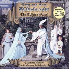 NEW - Greg and Tim Hildebrandt The Tolkien Years Expanded Edition -2002 Art Book Signed, Brothers Hildebrandt