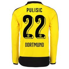 Puma BVB Home Shirt 2015/16 - Long Sleeve Yellow with BVB Home Shirt 2015/16 - Long Sleeve Yellow Every club has their colour and their own team emblems, this is clearly visible within each garment of the official PUMA Licensed Football Apparel, proudly  http://www.MightGet.com/february-2017-2/puma-bvb-home-shirt-2015-16--long-sleeve-yellow-with.asp