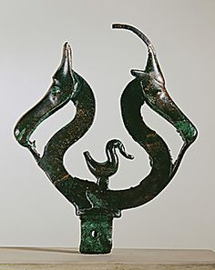 Animal ornament from Faardal, Denmark. Approx 600 BCE.