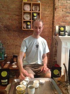 New York Gaiwan Master Sebastian Beckwith of In Pursuit of Tea