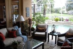 decorating a lanai in florida your decorated