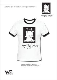 ILLUSTRATION PROJECTS-PIG-MEU BEBÊ PIG PROJETCS no Pantone Canvas
