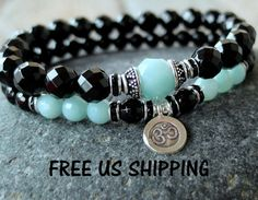 Hey, I found this really awesome Etsy listing at https://www.etsy.com/listing/152827432/calming-amazonite-set-of-2-yoga