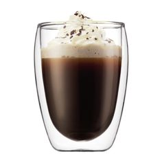 2 St. Dobbeltvegget Kaffe Glass, Bodum